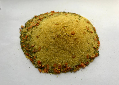 Universal spice mix with salt