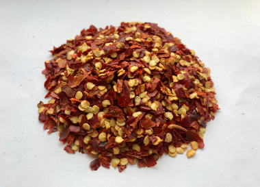 Crushed red pepper pods